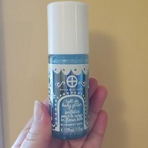 BBW roll on body glitter blueberry swirl ✨